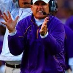 Les Miles, LSU head football coach