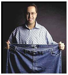 Jared Fogle lost weight for vibrant health.